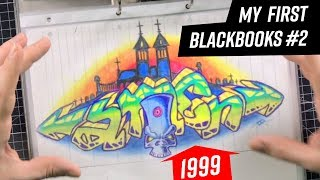 SHOWING MY GRAFFITI SKETCHBOOK 1999 - 2001 | #18 GRAFFCEMBER