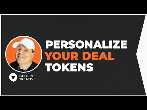 Deal Personalization Tokens