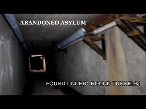 ABANDONED Embreeville State Hospital/Asylum (Found Underground Tunnels)