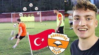 1 TAG HAUTNAH MIT PROFI FUSSBALLERN   ViscaBarca in Adana 🇹🇷
