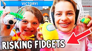 RISKING FIDGETS in MM2 Gaming w The Norris Nuts