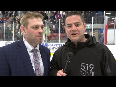 GOJHL  1 on 1  with Jason Brooks after winning the Sutherland Cup
