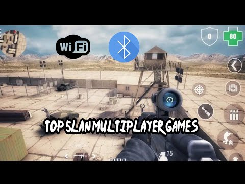 Top 5 Lan Multiplayer Games For Android 2019 |WiFi And Bluetooth