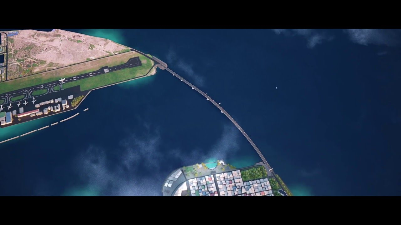Image result for Maldives-China Friendship Bridge, pictures
