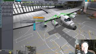 Building and Simulating a Real Scale Stratolaunch Aircraft