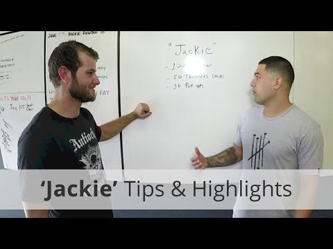 The Jackie WoD Goal Occasions, Tips, and Safety