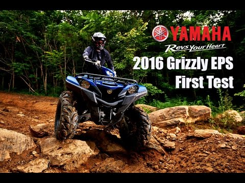 2016 Yamaha Grizzly 700 EPS First Test