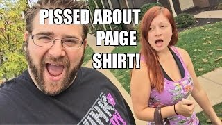 EMBARRASSING HUSBAND RUINS VACATION! Heel Wife Mad About Paige T-Shirt