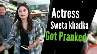 Nepali Prank-Actress sweta khadka got Pranked