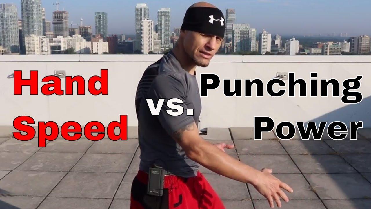 Punch Mechanics | Hand Speed vs  Punching Power
