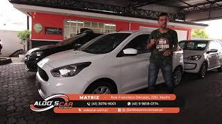 FORD KA + TOP DE LINHA É AQUI NA ALDO'S CAR MULTIMARCAS