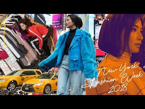 Behind the Scenes at New York Fashion Week  AW 2018 | Nicole Andersson