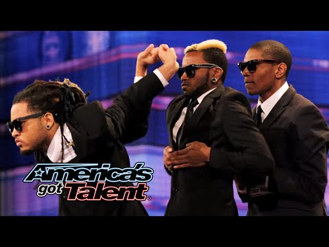 Dragon House: Hip-Hop Dance Crew Shows Off Cool Robotic Moves - America's Got Talent 2014