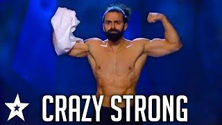CRAZY STRONG! Best Workout Auditions Worldwide | Got Talent Global