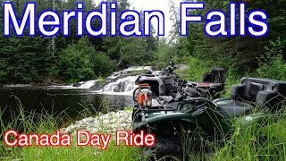 Meridian Falls -  Bunyan Lake - Canada Day Off-Road ATV Trail Ride!