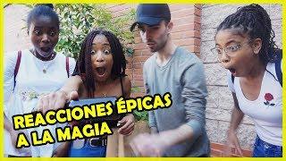 REACCIONES ÉPICAS A LA MAGIA.( street magic 5)