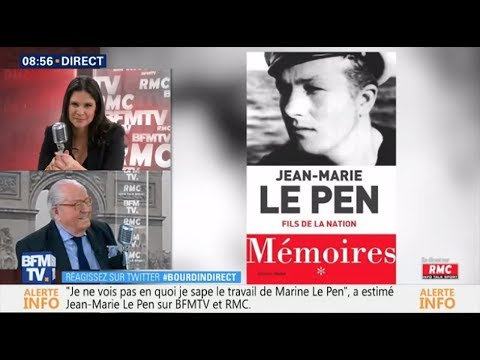 Jean-Marie Le Pen - Bourdin Direct BFM TV
