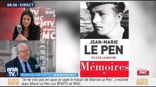 Jean-Marie Le Pen - Bourdin Direct BFM TV