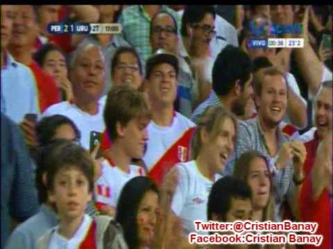 Peru 2 Uruguay 1 (Relato Matias Palacios)  Eliminatorias Rusia 2018