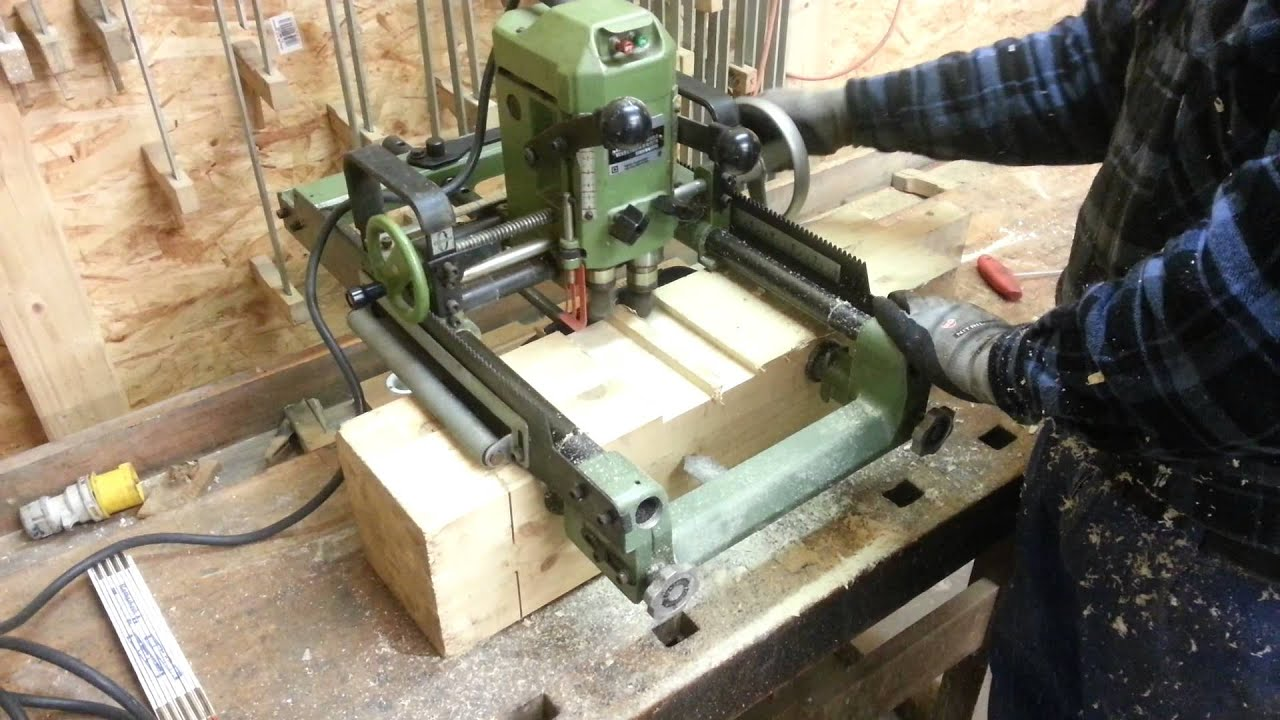 makita timber frame joinery machine youtube