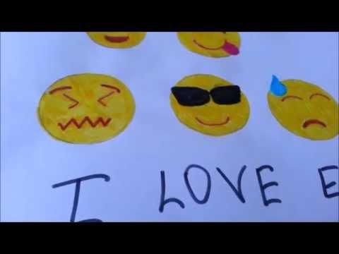 Как нарисовать смайликов Emoji (часть 3)