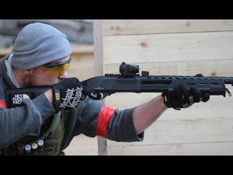 Airsoft War M870 Shotgun, KWA M4 The Depot Glasgow HD
