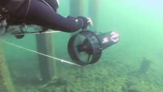 Freestyle Scooter River Drift Diving - Descend Scubadiving