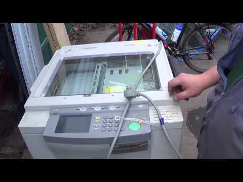 Scrapping an Office Xerox Photo Copier For Steel, Copper, Aluminum, Gold, and Silver