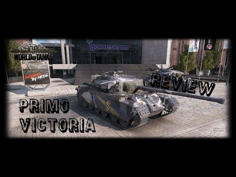 """Let's Play World of Tanks   Primo Victoria """"Sabaton""""   Der Preview Test [ German - Deutsch ]"""