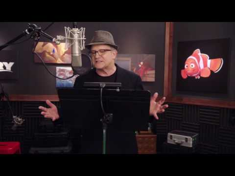 """Finding Dory: Albert Brooks """"Marlin"""" Behind the Scenes Voice Acting"""