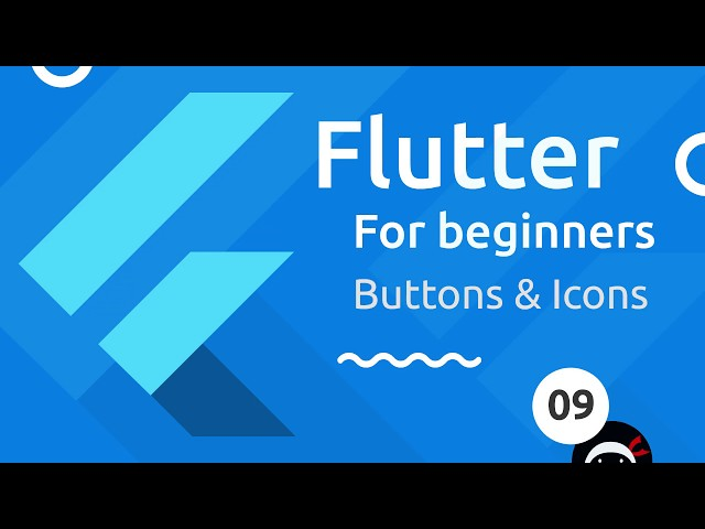 Flutter Tutorial for Beginners #9 - Buttons & Icons