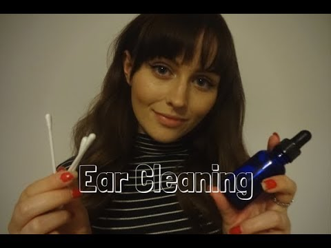 ASMR Ear Cleaning Role Play~ Latex Glove sounds, Close up Semi-inaudible whispering