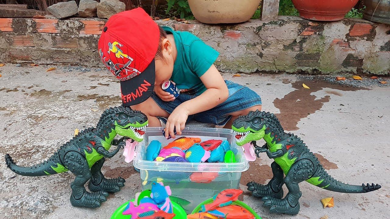 Trò Chơi Bé Đi Bắt Cá ❤ ChiChi ToysReview TV ❤ Đồ Chơi Trẻ Em Baby Doli Children Song