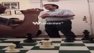 Chess Master James West at the Historic Marshall Chess Club part 4