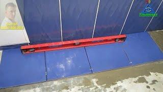 видео Простой способ укладки плитки вокруг дверей ч