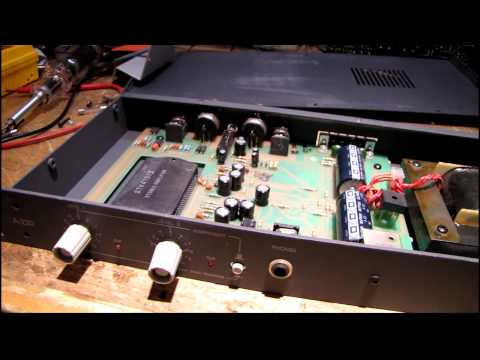 Quick Fix: Symetrix A-220 Pro Amp