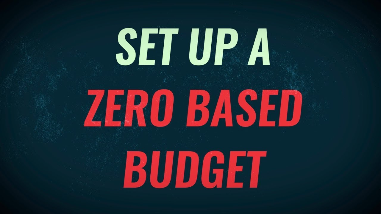 Setting Up A Zero Based Budget | Free Spreadsheet Download