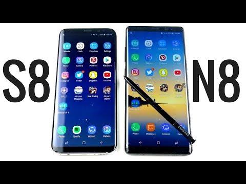 Galaxy S8 Plus vs Galaxy Note 8 Speed Test Showdown!