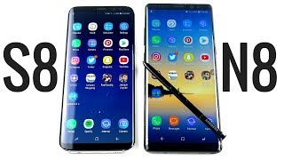 Galaxy S8 Plus vs Galaxy Note 8 Speed Test Showdown!