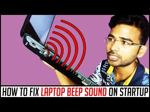 How to fix Laptop Beep Sound on startup | 2018