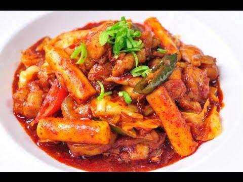 ทัคคาลบี Dak Galbi (ไก่ซอสรสเผ็ดแบบเกาหลี)