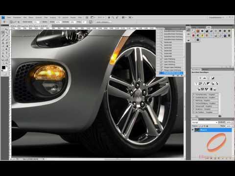 Photoshop Tutorial: Die Farbe eines Autos ändern