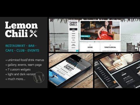 LemonChili v2.02 – a Premium Restaurant WordPress Theme DESCARGA ...