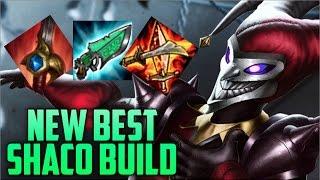 HIGHEST WIN RATE & NEW BEST SHACO BUILD- Season 7 AP Shaco Jungle Build Guide (League of Legends)