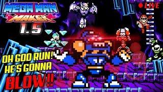 We Play YOUR Mega Man Maker Levels LIVE #78