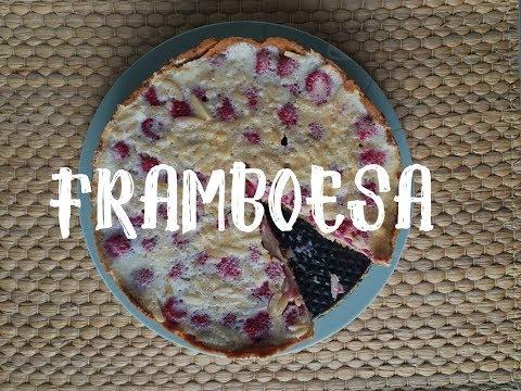 Batatolandia | Cozinhando na Alemanha | Torta de Framboesa