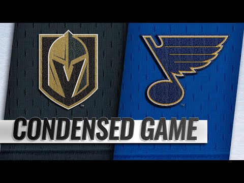 11/01/18 Condensed Game: Golden Knights @ Blues