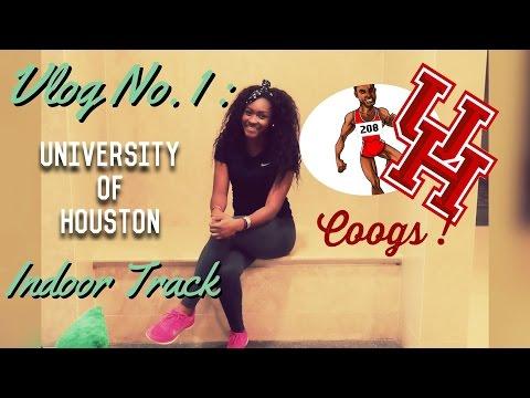 |Vlog No. 1| : University Of Houston Indoor Track Meet
