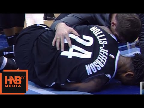 Rondae Hollis-Jefferson Injury / Nets vs Grizzlies