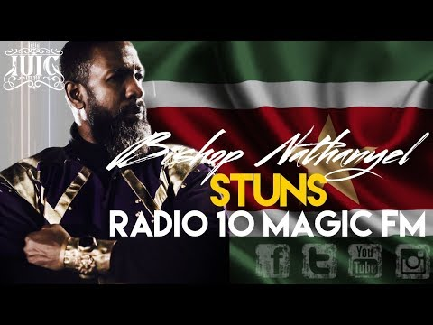 IUIC  BISHOP NATHANYEL STUNS RADIO 10 MAGIC FM  SURINAME